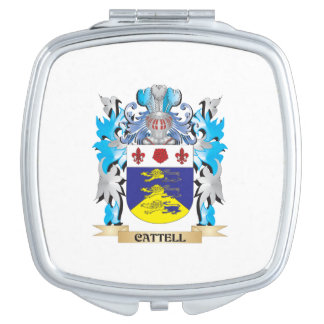 Cattell Coat of Arms - Family Crest Vanity Mirrors
