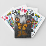 Catterfly is a digital painting by Billie Jo Ellis Deck Of Cards