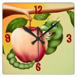 Catterpillar feliz relojes