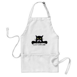 cattitude adult apron
