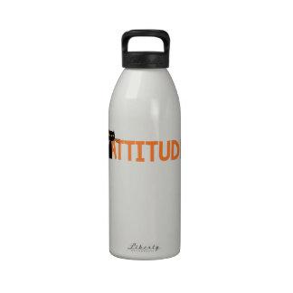 Cattitude Botella De Agua