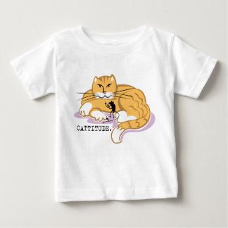 Cattitude and Mouse Baby T-Shirt