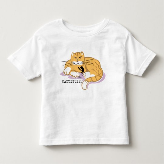 Cattitude and Mouse Toddler T-shirt