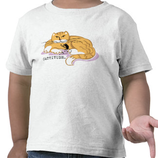 Cattitude and Mouse Tee Shirt