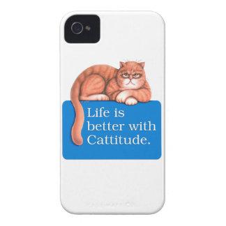 Cattitude Case-Mate iPhone 4 Cases