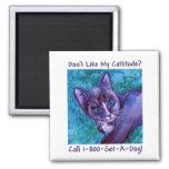 Cattitude Cat Magnet