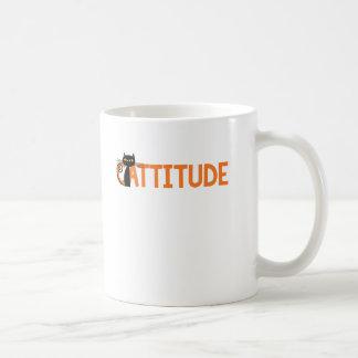 Cattitude Coffee Mug