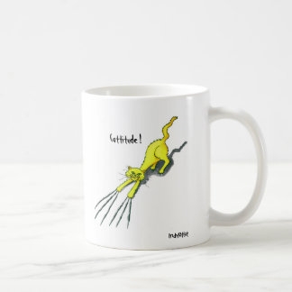 Cattitude! Coffee Mug