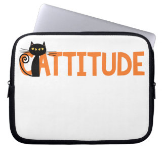 Cattitude Computer Sleeve