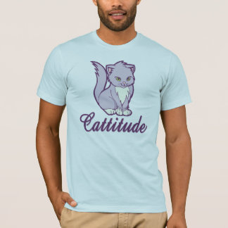 Cattitude Cute Kitty Cat T-Shirt