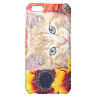 Cattitude, gatito anaranjado del gato del gatito c
