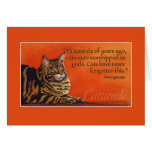 Cattitude Greeting Card