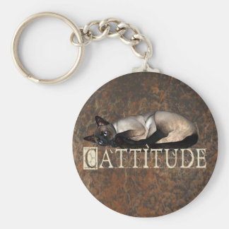 Cattitude Keychains