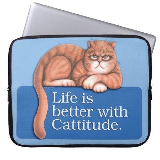 Cattitude Lap Top Bag