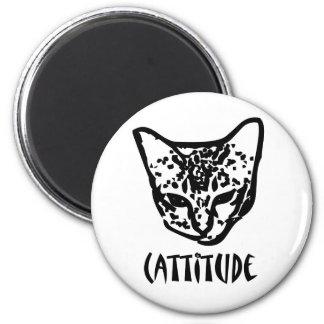 Cattitude Fridge Magnets