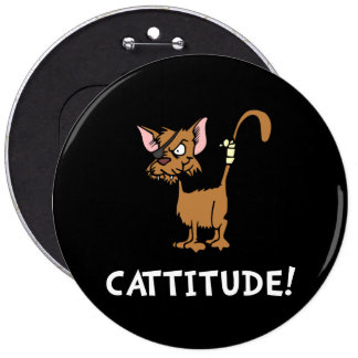 Cattitude Pin Redondo 15 Cm