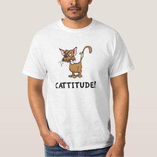 Cattitude Playera