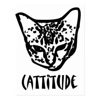 Cattitude Post Card