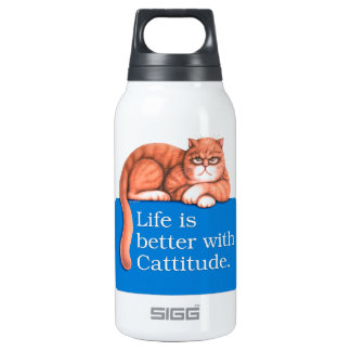 Cattitude SIGG Thermo 0.3L Insulated Bottle
