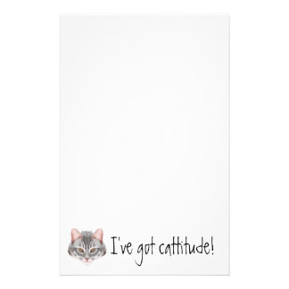 Cattitude Stationery