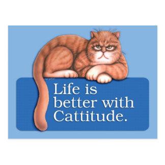 Cattitude Postales