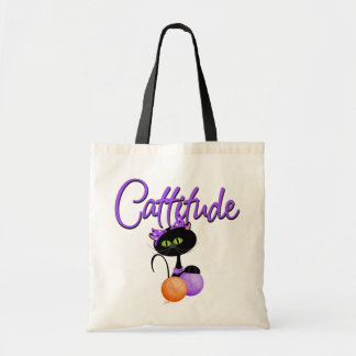 Cattitude Trick or Treat Bag
