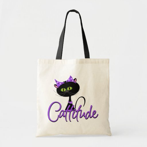 Cattitude Trick or Treat Bag