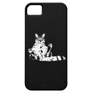Cattitude - un gato con actitud funda para iPhone SE/5/5s