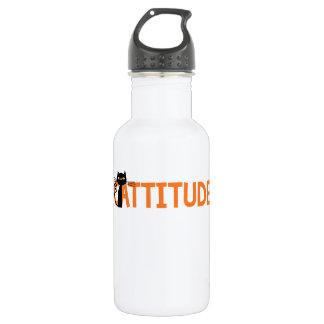 Cattitude Water Bottle