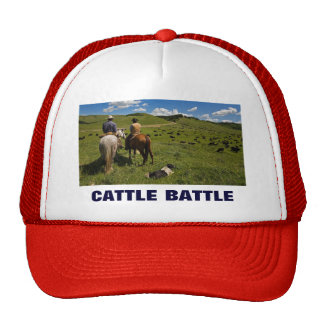 CATTLE BATTLE TRUCKER HAT