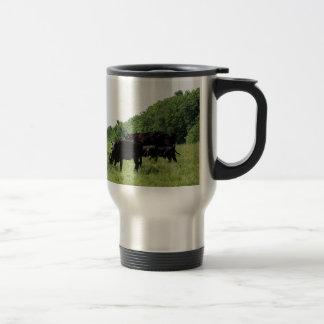 Cattle Black Angus Travel Mug
