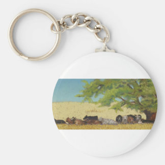 cattle, cow keychain