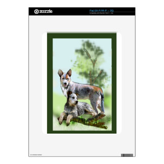 CATTLE DOG DECAL FOR THE iPad