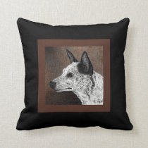 "Cattle Dog Pillow - ""Ranger"""
