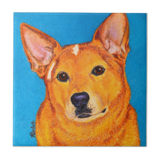 "Cattle Dog Tile - ""Red"""