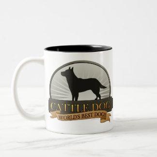Cattle Dog Two-Tone Coffee Mug