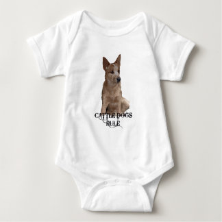 Cattle Dogs Rule Baby Bodysuit