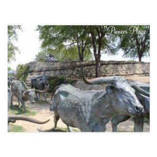 Cattle Drive # 10 Postcard