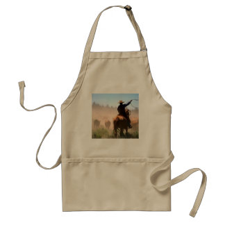 Cattle Drive Adult Apron