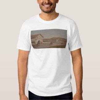 Cattle drove at Mission Dolores, Calif. (1243) T-shirt