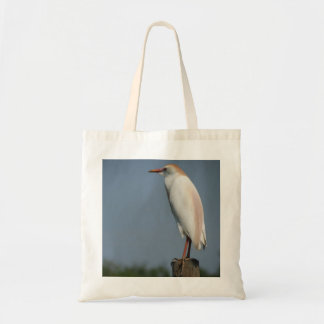 Cattle Egret Budget Tote Tote Bag