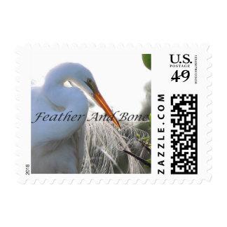 Cattle Egret Stamp