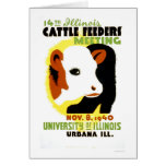 Cattle Feeders Illinois 1940 WPA