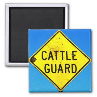 cattle guard diamond magnet