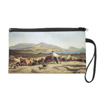 Cattle herding near Marseilles, 1853 (oil on canva Wristlet