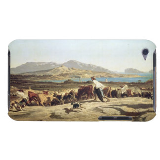 Cattle herding near Marseilles, 1853 (oil on canva Barely There iPod Case