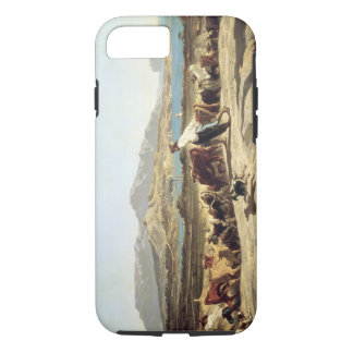 Cattle herding near Marseilles, 1853 (oil on canva iPhone 8/7 Case