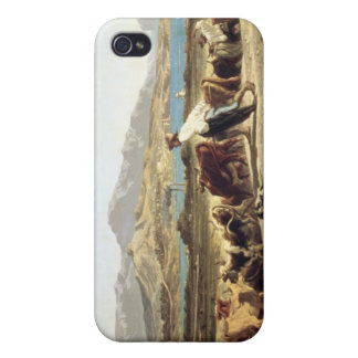 Cattle herding near Marseilles, 1853 (oil on canva iPhone 4 Covers