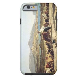 Cattle herding near Marseilles, 1853 (oil on canva Tough iPhone 6 Case