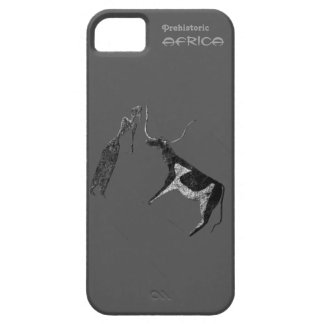 Cattle in Prehistoric Life iPhone SE/5/5s Case